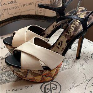 Sam Edelman platform heels sz 8.5